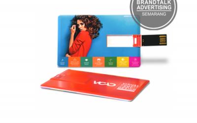 Souvenir Flashdisk Kartu untuk Media Promosi Perusahaan