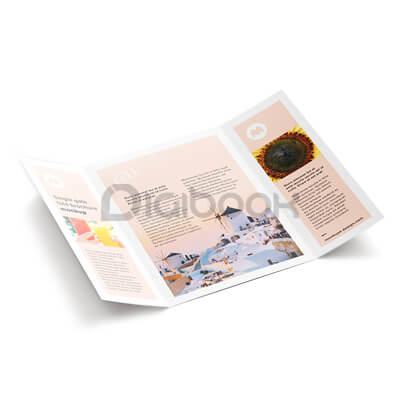 Brosur A4 Brandtalk Advertising