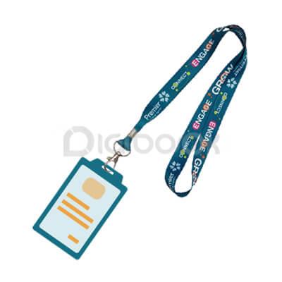 ID Card Tali Lanyard Brandtalk Advertising