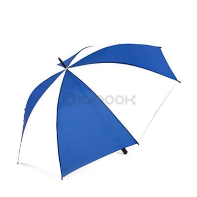 Payung Golf Biru Putih Brandtalk Advertising