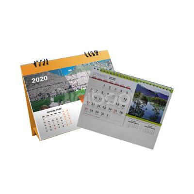 Produk Kalender Meja Landscape 2 Brandtalk Advertising